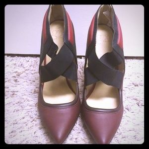 NWOT GX by Gwen Stefani Red Pointed Heel Shoes